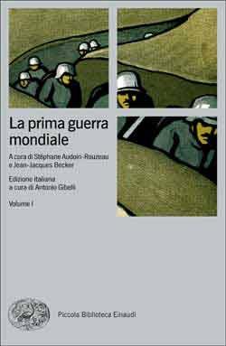 Copertina del libro La prima guerra mondiale di VV.