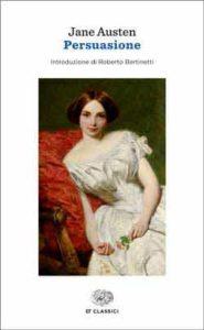 Copertina del libro Persuasione di Jane Austen