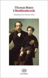 Copertina del libro I Buddenbrook di Thomas Mann