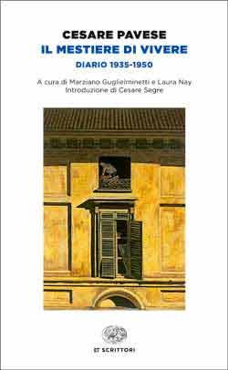 Copertina del libro Il mestiere di vivere di Cesare Pavese