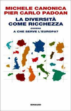Copertina del libro La diversità come ricchezza di Michele Canonica, Pier Carlo Padoan