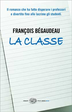 Copertina del libro La classe di François Bégaudeau