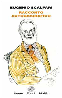 Copertina del libro Racconto autobiografico di Eugenio Scalfari