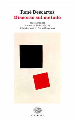 Copertina del libro Discorso sul metodo / Discours de la méthode (Einaudi) di René Descartes