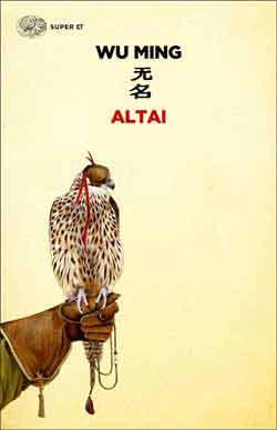 Copertina del libro Altai di Wu Ming