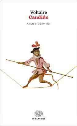 Copertina del libro Candido o L'ottimismo di Voltaire