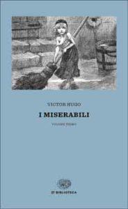 Copertina del libro I miserabili di Victor Hugo