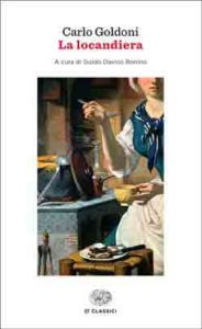 Copertina del libro La locandiera di Carlo Goldoni