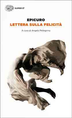 Copertina del libro Lettera sulla felicità di Epicuro