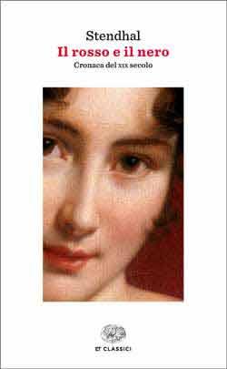 Copertina del libro Il rosso e il nero di Stendhal