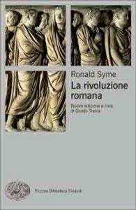 Copertina del libro La rivoluzione romana di Ronald Syme