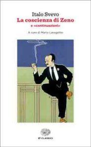 Copertina del libro La coscienza di Zeno di Italo Svevo