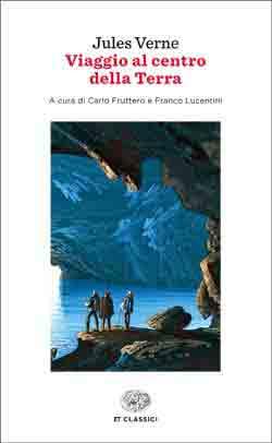 Copertina del libro Viaggio al centro della Terra di Jules Verne