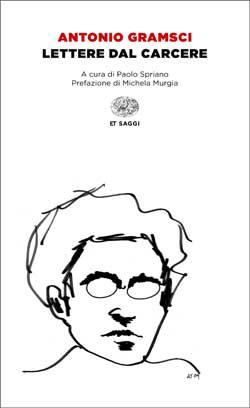 Copertina del libro Lettere dal carcere di Antonio Gramsci