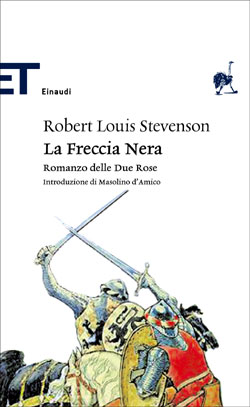 Copertina del libro La Freccia Nera (Einaudi) di Robert Louis Stevenson