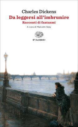 Copertina del libro Da leggersi all'imbrunire di Charles Dickens