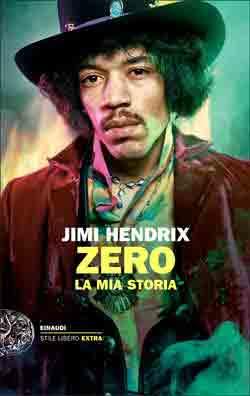 Copertina del libro Zero di Jimi Hendrix
