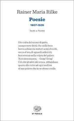 Copertina del libro Poesie 1907-1926 di Rainer Maria Rilke