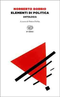 Copertina del libro Elementi di politica di Norberto Bobbio