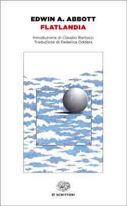 Copertina del libro Flatlandia di Edwin A. Abbott