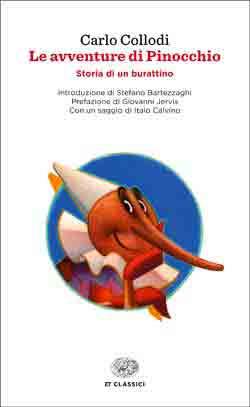 Copertina del libro Le avventure di Pinocchio di Carlo Collodi