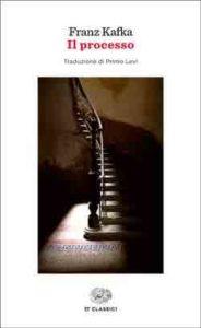 Copertina del libro Il processo di Franz Kafka