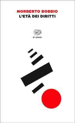 Copertina del libro L'età dei diritti di Norberto Bobbio