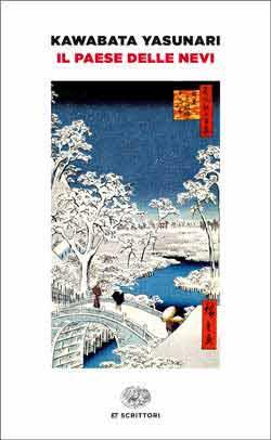 Copertina del libro Il paese delle nevi di Kawabata Yasunari
