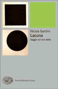 Copertina del libro Lacuna di Nicola Gardini