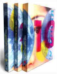 Copertina del libro 1Q84 di Murakami Haruki