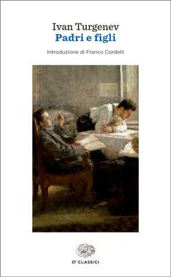 Copertina del libro Padri e figli di Ivan Turgenev