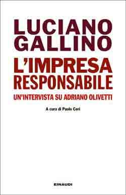 Copertina del libro L'impresa responsabile di Luciano Gallino