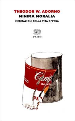 Copertina del libro Minima moralia di Theodor W. Adorno