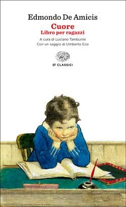 Copertina del libro Cuore di Edmondo De Amicis