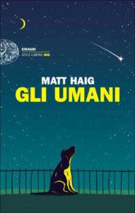 Copertina del libro Gli umani di Matt Haig
