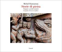 Copertina del libro Storie di pietra di Michel Pastoureau