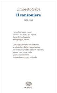 Copertina del libro Il canzoniere di Umberto Saba