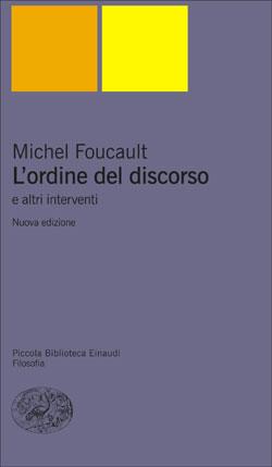 Copertina del libro L'ordine del discorso di Michel Foucault