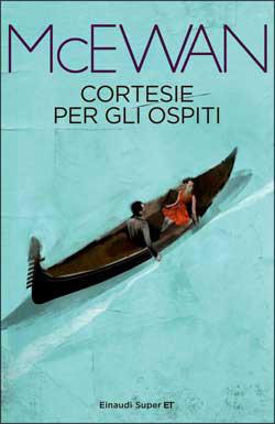 Copertina del libro Cortesie per gli ospiti di Ian McEwan