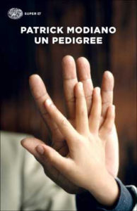 Copertina del libro Un pedigree di Patrick Modiano