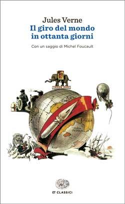 Copertina del libro Il giro del mondo in ottanta giorni (Einaudi) di Jules Verne