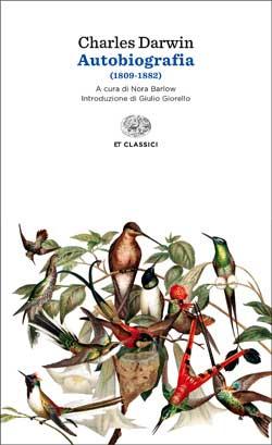 Copertina del libro Autobiografia di Charles Darwin