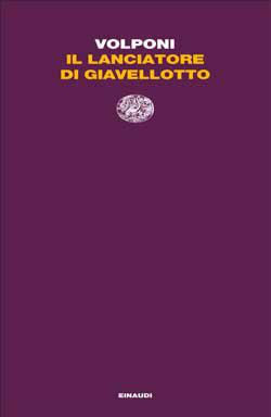 Copertina del libro Il lanciatore di giavellotto di Paolo Volponi