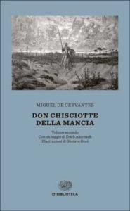 Copertina del libro Don Chisciotte della Mancia di Miguel de Cervantes