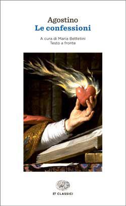 Copertina del libro Le confessioni di Agostino