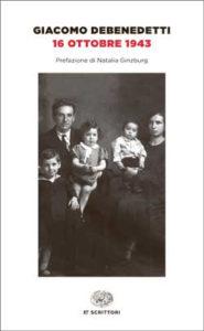 Copertina del libro 16 ottobre 1943 di Giacomo Debenedetti