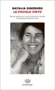 Copertina del libro Le piccole virtú di Natalia Ginzburg