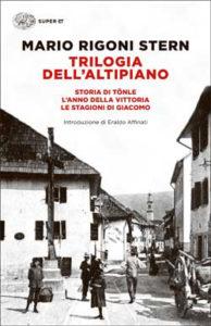 Copertina del libro Trilogia dell'Altipiano di Mario Rigoni Stern