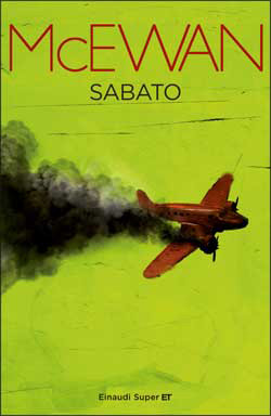 Copertina del libro Sabato di Ian McEwan