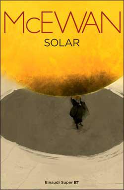 Copertina del libro Solar di Ian McEwan